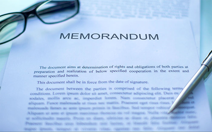 Business memorandum