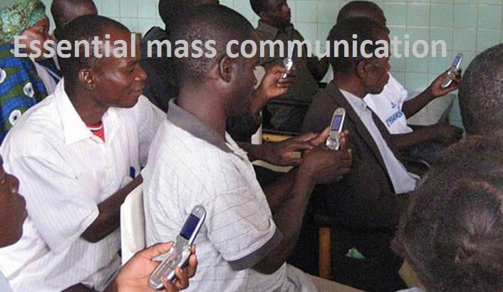 Essential mass communication