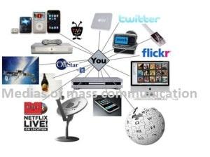 Medias of mass communication