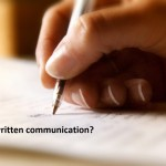 What is written communication