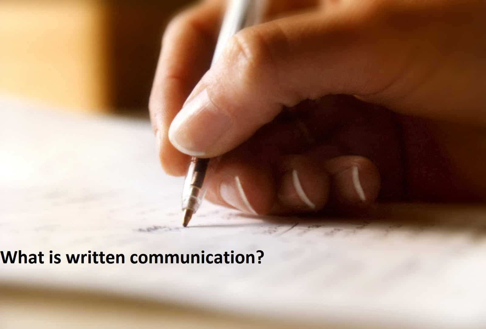 effective oral and written communication definition