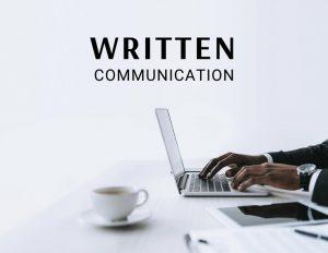 written communication definition