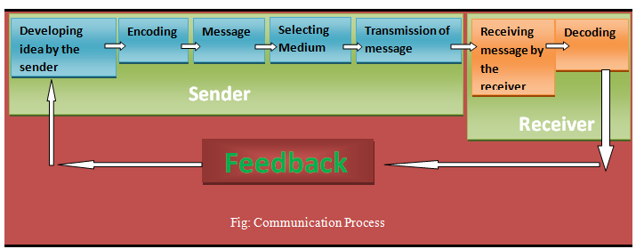 communication processes in selected business