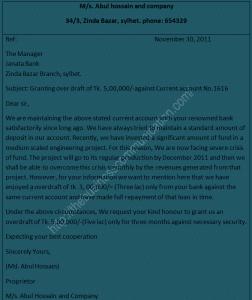 Specimens of Bank Correspondence